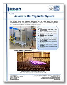 InfoTag Bar Tag Nailer System