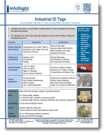Industrial Tags Brochure