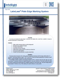 Plate Edge Marking System